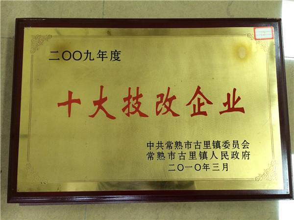 2009十大技改企业